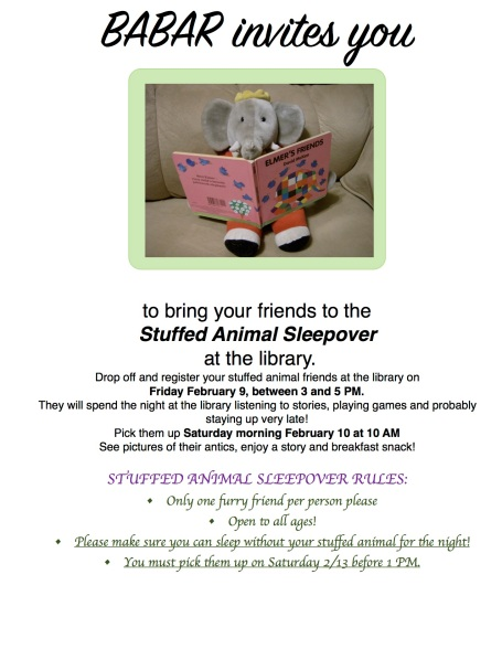 Stuffed Animal Sleepover 2018 corrected