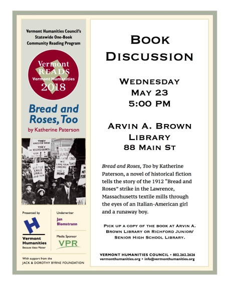 Bread & Roses book discussion